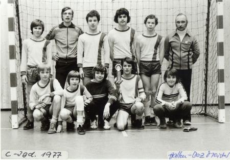 C-Jungend 1977 Hallenbezirksmeister