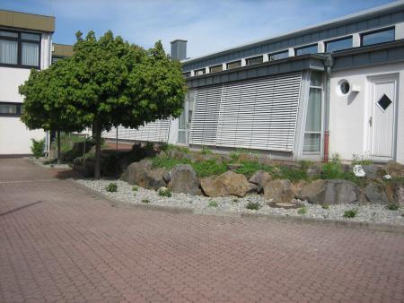 Eingang Glasanbau