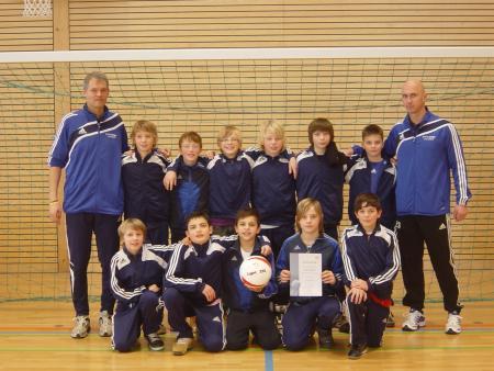 D-Junioren WFV Hallenrunde 2009-2010