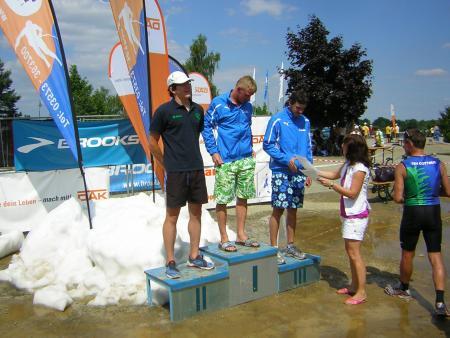 25.Triathlon und LM Senftenberger See 01.08.2010
