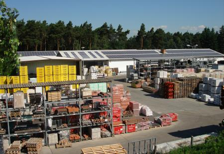 ELG - Baustoffhandel Calau - Lager