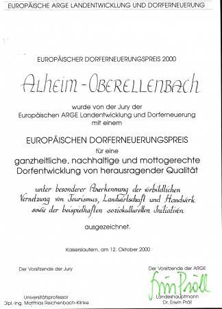 Dorferneuerung2000