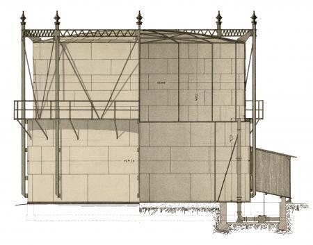 Bauzeichnung Gasanstalt 1905-4