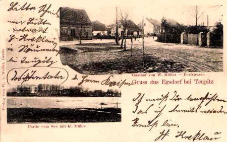 Gasthof Egsdorf 1902