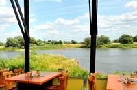 Blick von der Terrasse auf die Oder 1