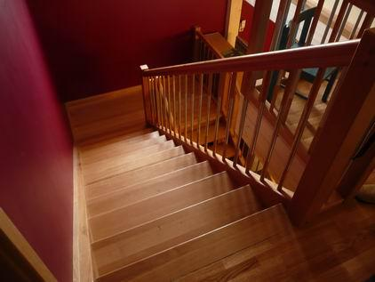 Ansicht eines Treppenaufganges