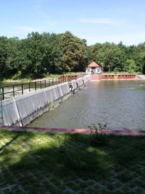 Nadelwehr in Grütz, Foto: WSA Brandenburg