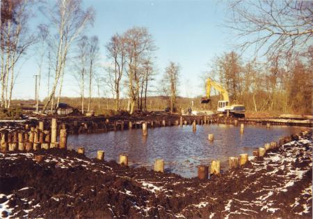 Hafenbau - Februar 2002