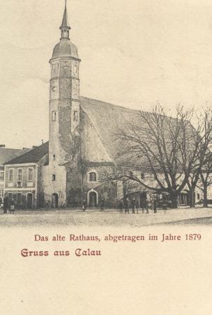 Altes Rathaus vor 1879