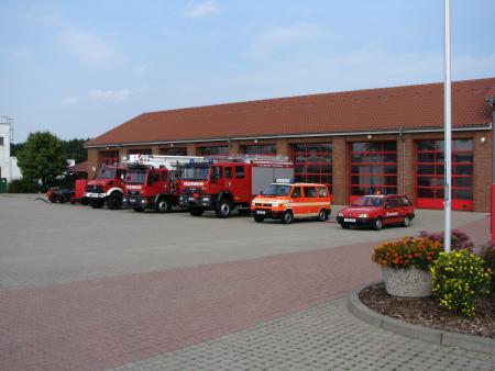 Feuerwehrgerätehaus Pritzwalk und Fahrzeuge