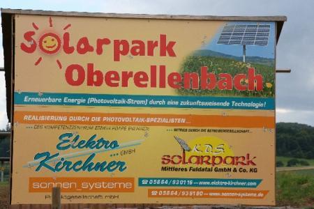 Solarpark Oberellenbach 3