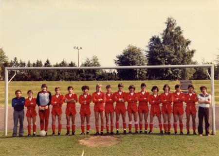 A-Jugend Saison 1981-1982