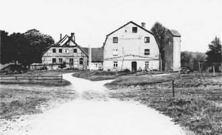 Abgebranntes Gutshaus in Karnitz