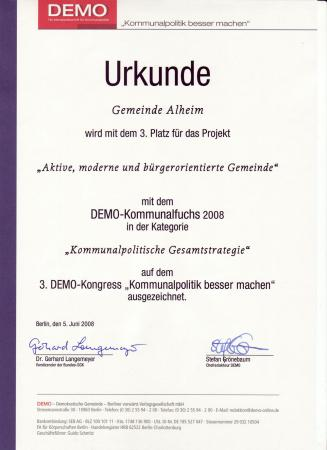 Kommunalfuchs 2008