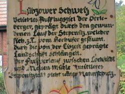 Tafel zur Lübzower Schweiz