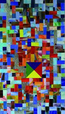 Glasmosaik zum Thema Leitbild