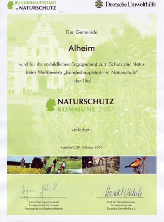 Naturschutzkommune 2007