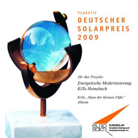 Solarplakette2009