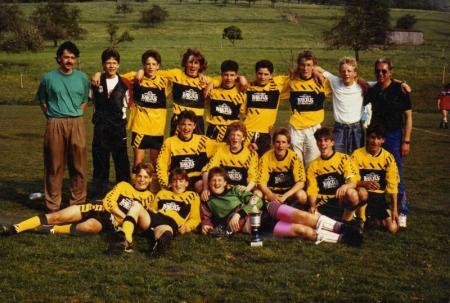 B-Jugend Pokalsieg 1990