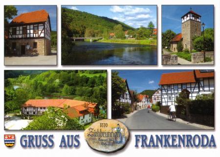 Postkarte Frankenroda