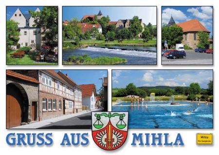 Postkarte von Mihla