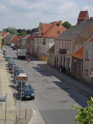 Ruppiner Straße vor der Sanierung