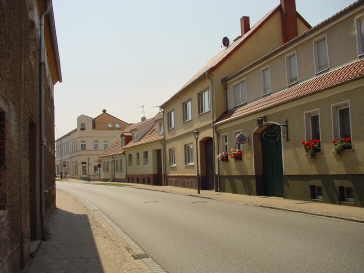 Ruppiner Straße nach der Sanierung