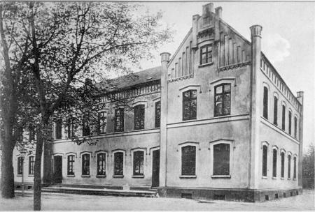 Schulgebäude 1907