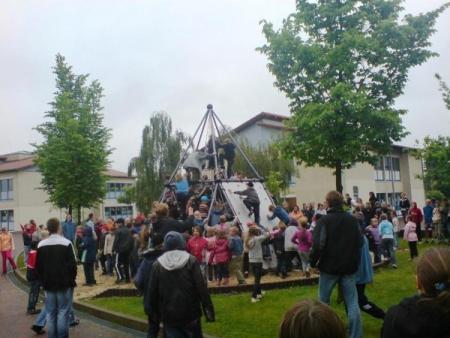 Schulhof Lennè Schule
