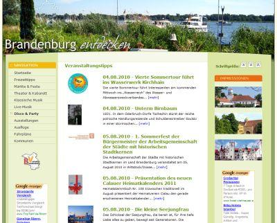 Brandenburg entdecken
