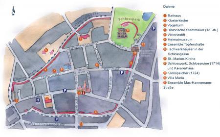 Karte Altstadt (zum Vergrößern anklicken)
