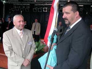 Bürgermeister Michael Deptuch Sulêcin (links) und Bürgermeister Thomas Hähle