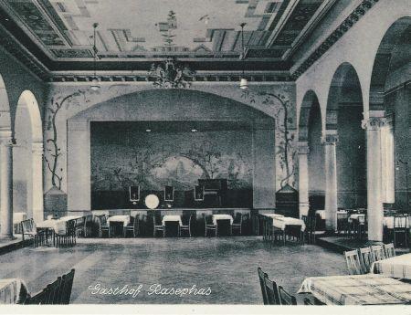 Tanzsaal des Gasthofes