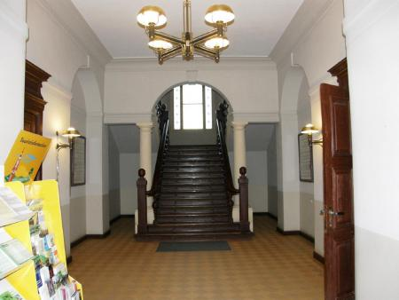 Treppenaufgang Rathaus