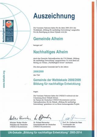 UNESCO-Alheim