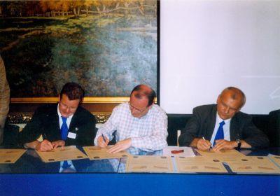 Unterschriften zur Partnerschaftsbegründung